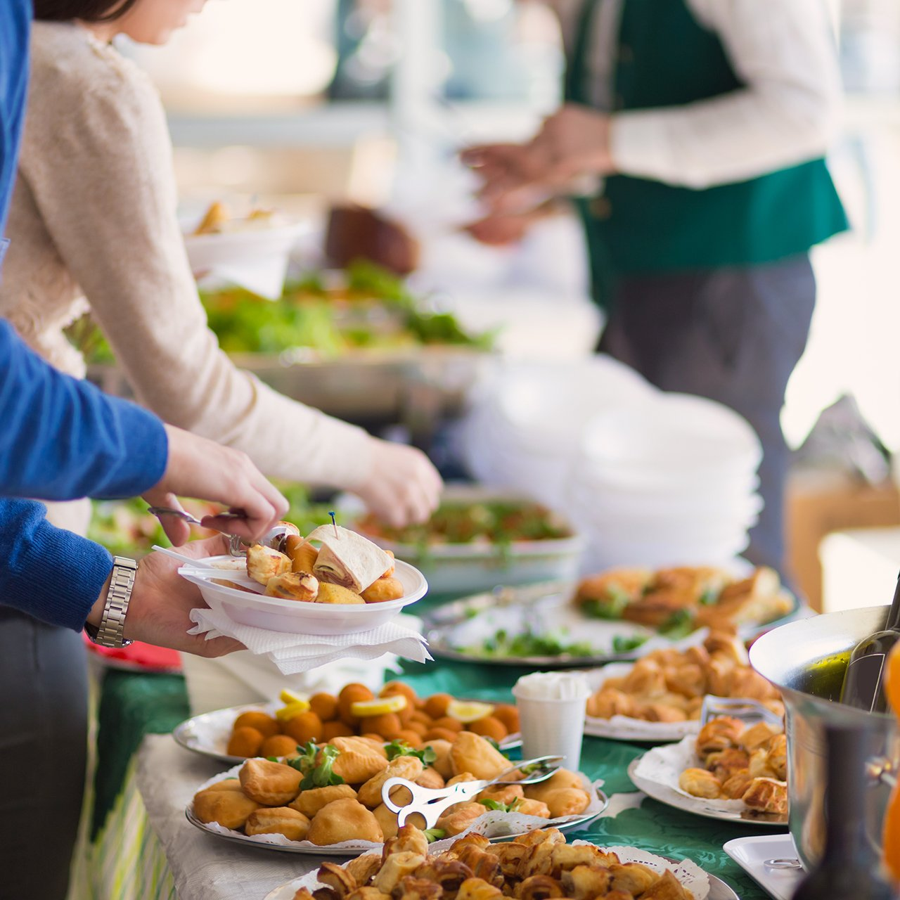 Catering Food For Wedding: Cafe Pacific Catering